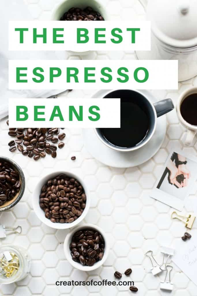Selection of the Best coffee beans for espresso