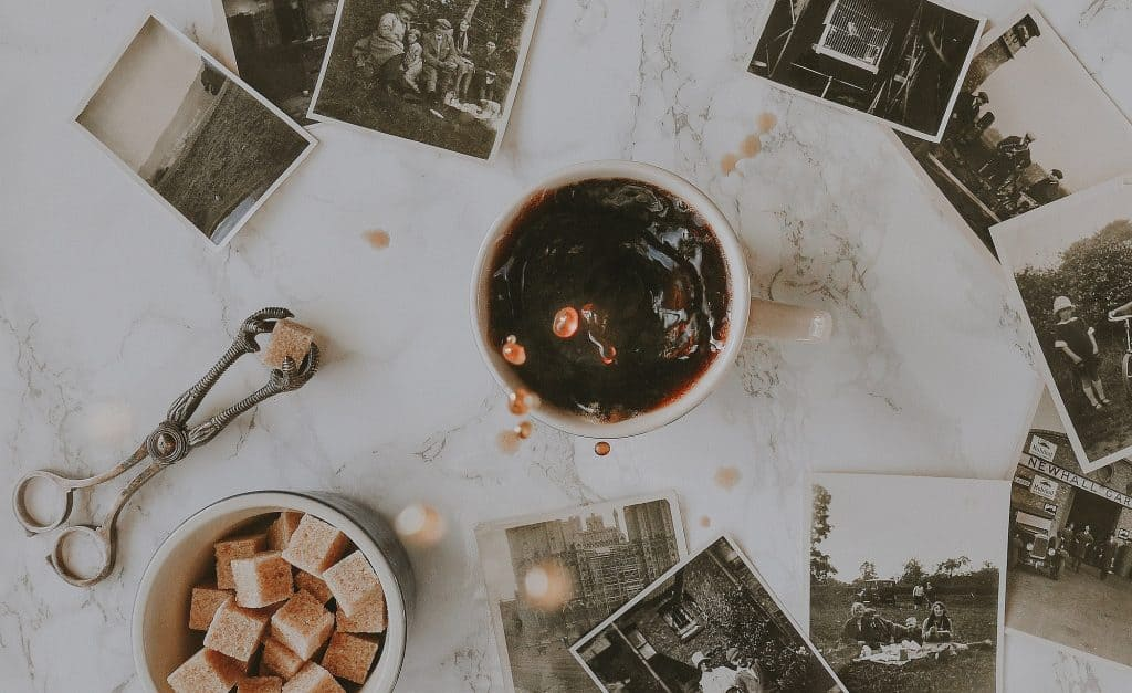How to enjoy coffee without sugar - Coffee Cup and Sugar Cubes