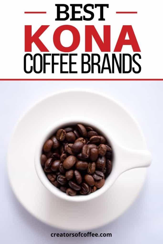 Gourmet Kona Coffee Beans