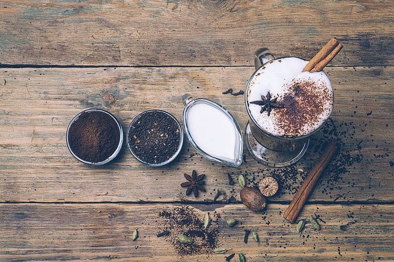 Dirty Chai Latte Coffee Drinks
