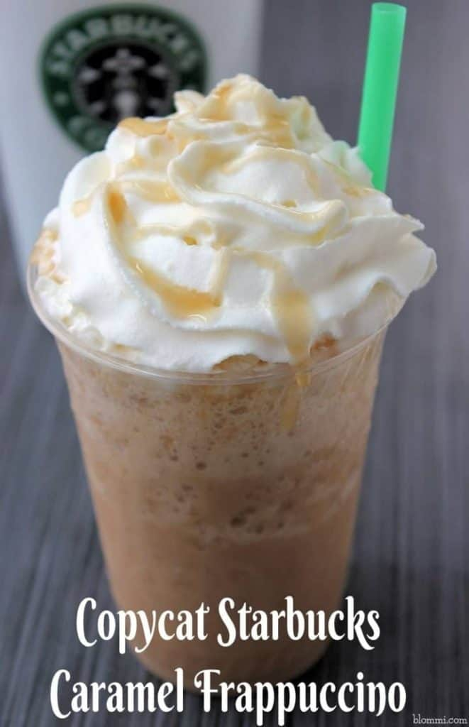 starbucks caramel iced coffee recipe