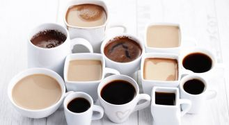 White cups of coffee with the Best coffee brewing methods