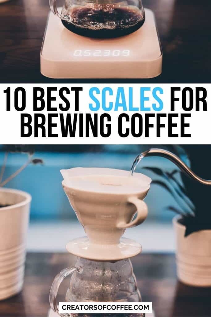 best scales for brewing coffee