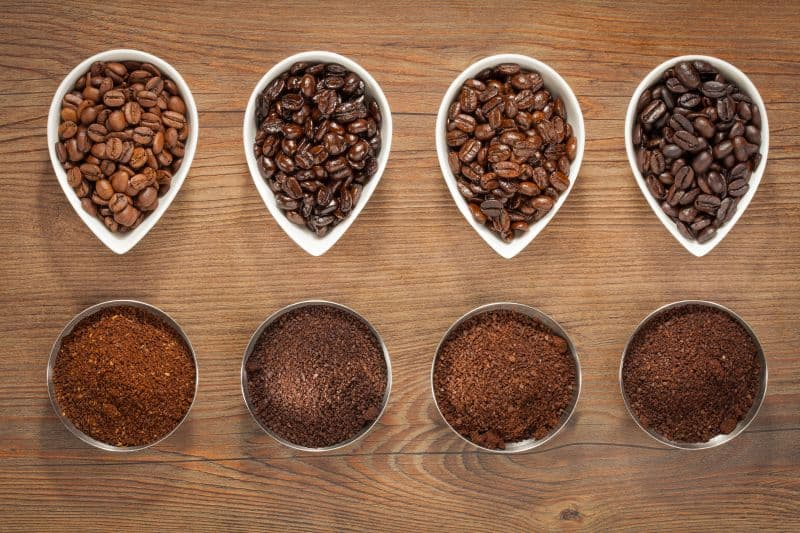 Best coffees for french press - roast types