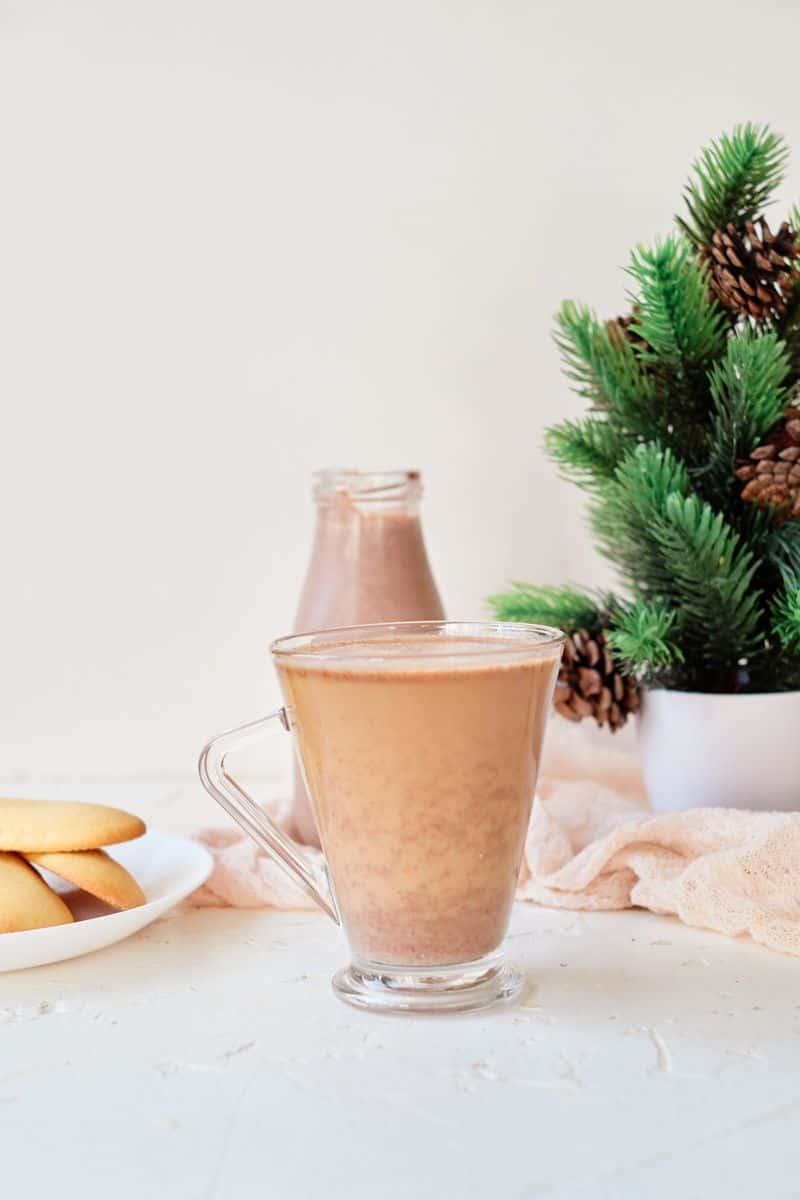 copycat coffee mate peppermint mocha coffee creamer in cup