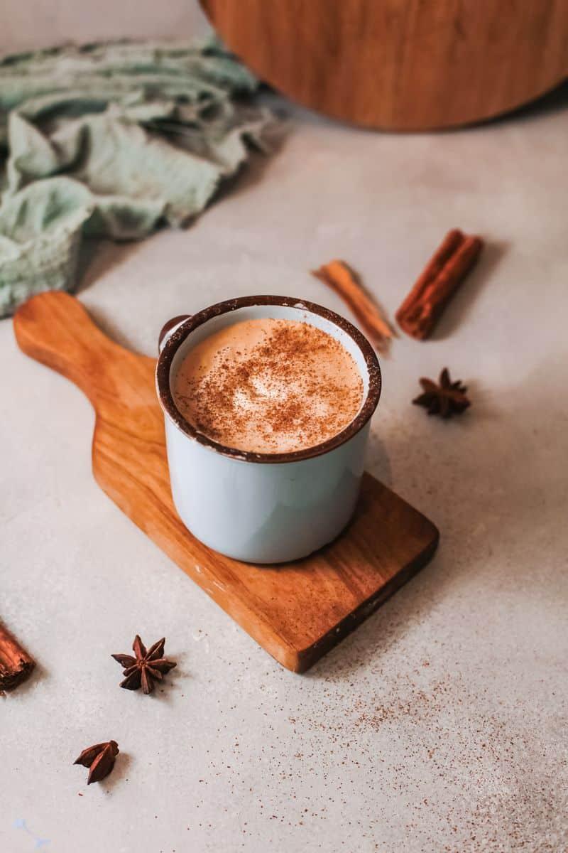 pumpkin spiced latte coffee