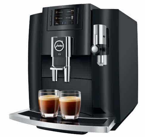 Jura E8 superautomatic coffee machine