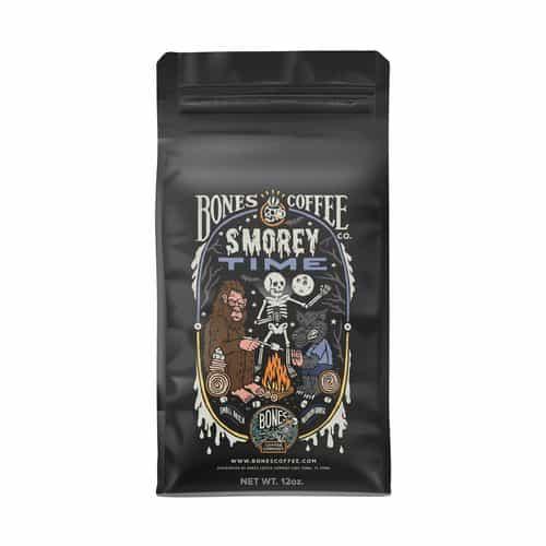 Bones Coffee Company Smorey Time Flavored Coffee Beans