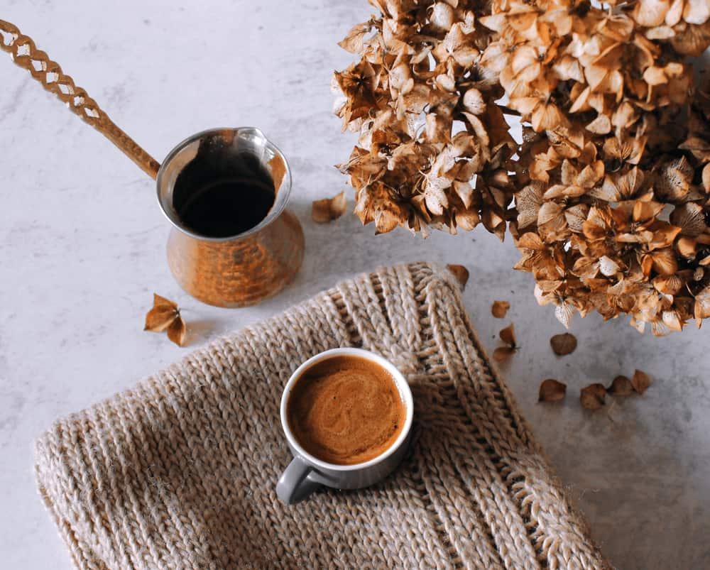 Cezve turkish coffee pot