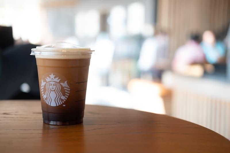 Nitro cold brew Starbucks cup.