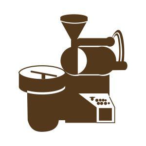 coffee roaster machine icon