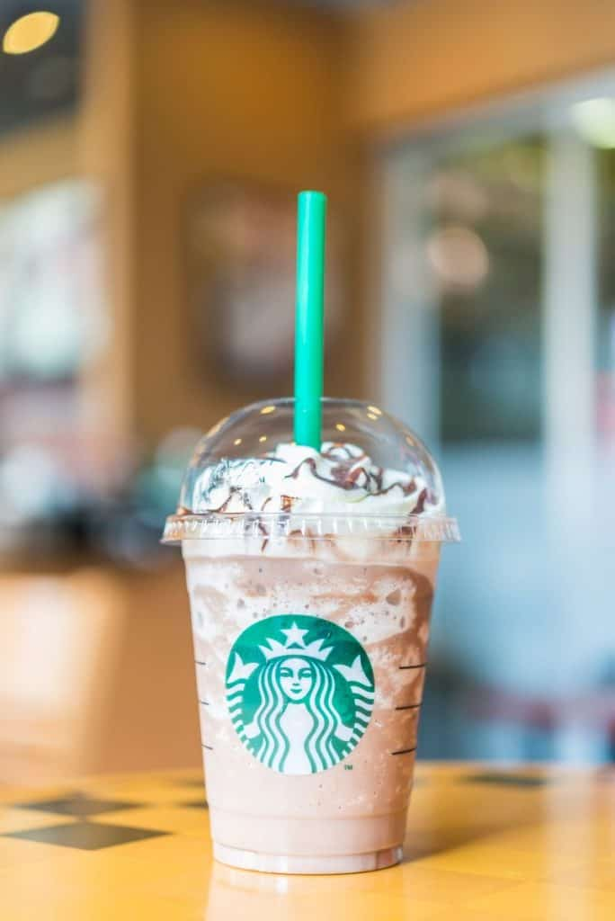 Frappuccino Coffee Chocolate Blended Beverages From Starbucks.